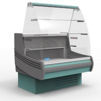 Холодильная витрина кондитерская Muza-K-1.25 для хранения ассортимента напитков и продуктов питания. Сделать заказ на apricot.