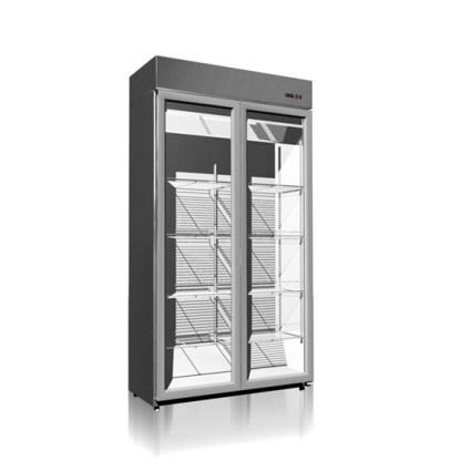 Холодильный шкаф со стеклянными дверьми купе Torino -800СК (800 л) - лучшее решение для кратковременного хранения напитков и различных пищевых продуктов. Купить на apricot.