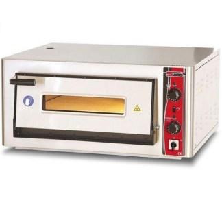 Печь для пиццы SGS РО 5050Е идеально подойдет для одновременного изготовления до 4 пицц по 25см. Корпус печи изготовлен из высококачественной нержавеющей стали. Сделать заказ на apricot.