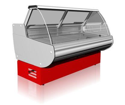 Гастрономическая витрина Belluno 1,1-2,0 для хранения продуктов. Тел. (050) 304-42-37, (067) 925-51-86, торговое оборудование.