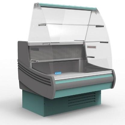 Холодильна вітрина кондитерська Muza К 1.5 для зберігання асортименту напоїв і продуктів харчування. Зробити замовлення на apricot.