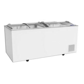 Морозильна скриня-MAGNA. Серед переваг - міцна алюмінієва корона стійка до механічних пошкоджень і ультрафіолету, стійке до подряпин гартоване скло. Зробити замовлення на apricot.