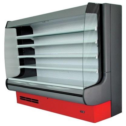 Гірка холодильна MODENA 1.4 поєднує вишуканий дизайн і функціональність. Конструкція гірки дозволяє максимально доступно представити товар покупцеві. Тел. (050) 304-42-37, (067) 925-51-86 торгове обладнання.