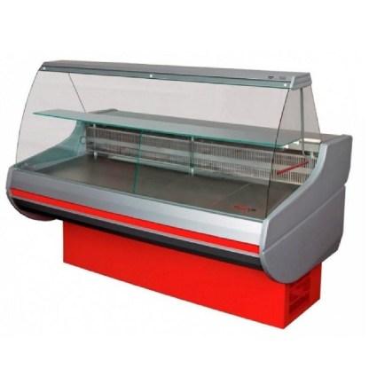 Універсальна холодильна вітрина Siena-П-1,1-2,0 ВС з опуклим склом, шириною 1,1 м. Відмінно підійде для зберігання різної продукції. Зробити замовлення на apricot