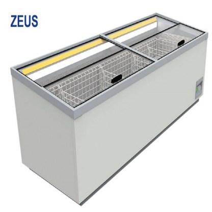 Морозильна бонета Zeus 1.85 - це універсальне обладнання, яке об'єднує в собі переваги вітрин, скринь і гірок. Тел. (050) 304-42-37, (067) 925-51-86 торгове обладнання.