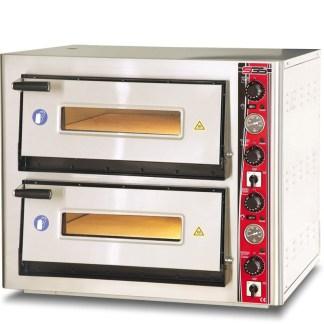 Піч електрична для піци SGS РВ 6262 DE. Корпус печі виготовлений з високоякісної нержавіючої сталі. Дно печі викладено спеціальними керамічними плитами. Зробити замовлення на apricot.