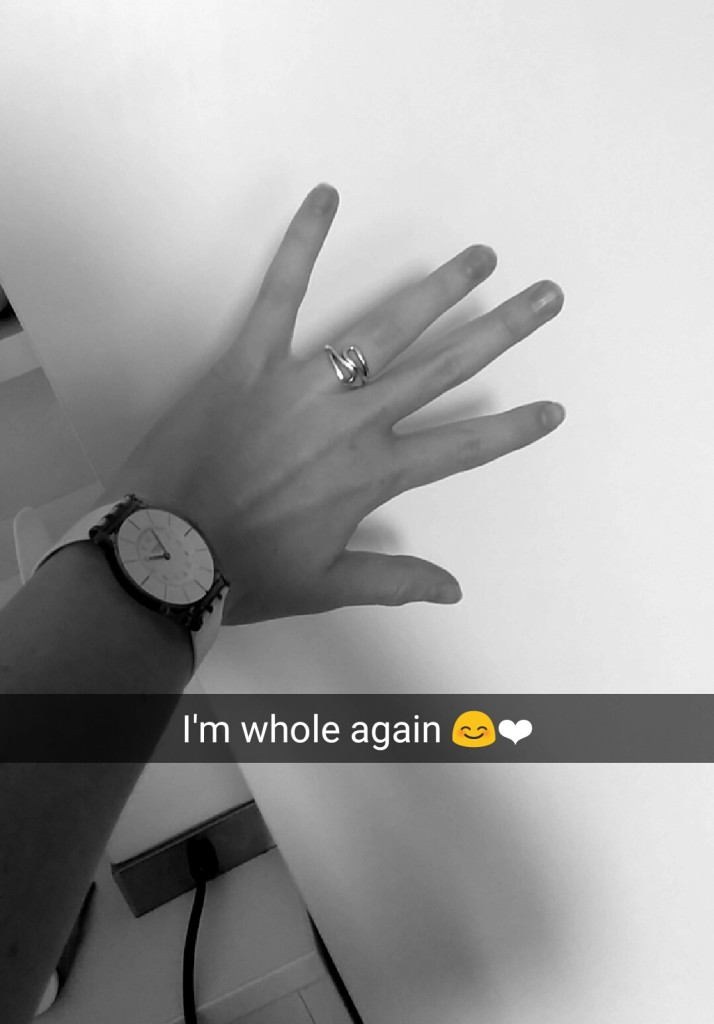 napchat Picture of my ring