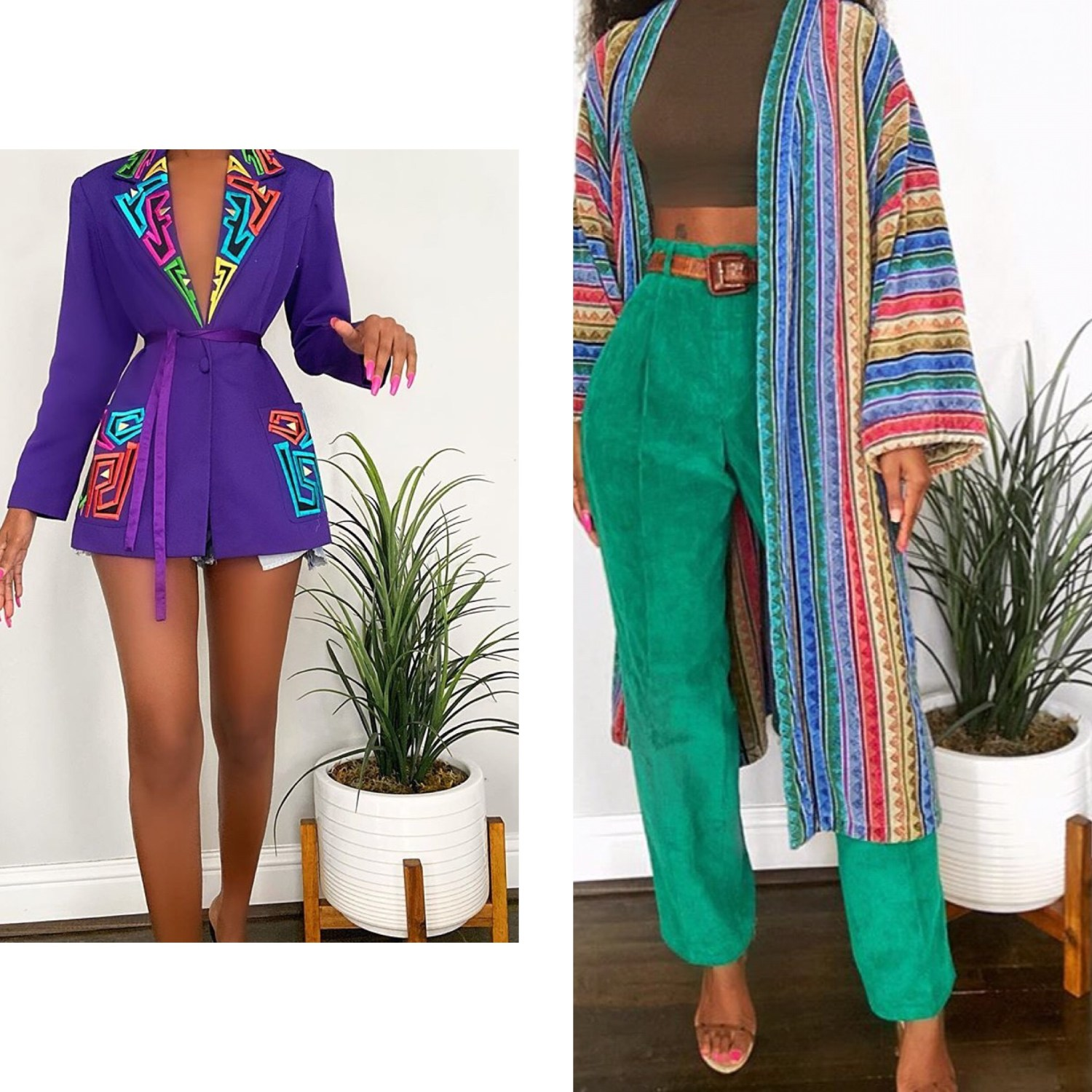 Random and chic Thrift and Vintage wears