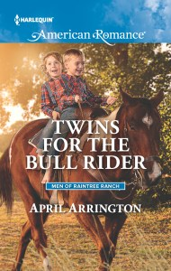 Twins for the Bull Rider by April Arrington
