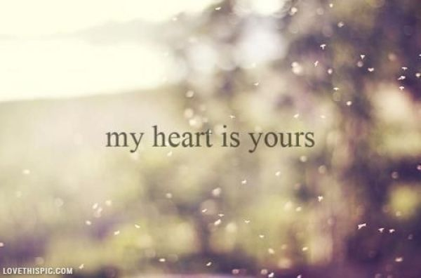 heart is yours pic