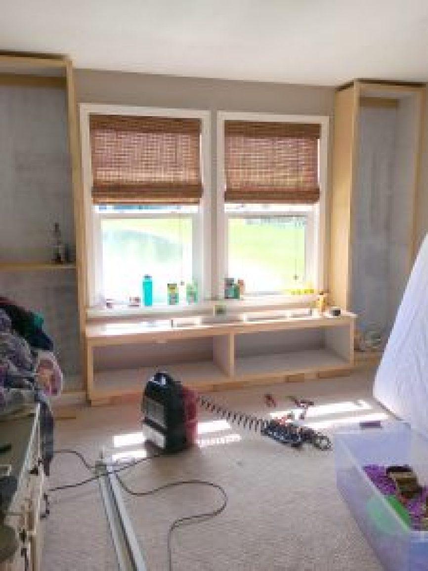 how to build custom shelves