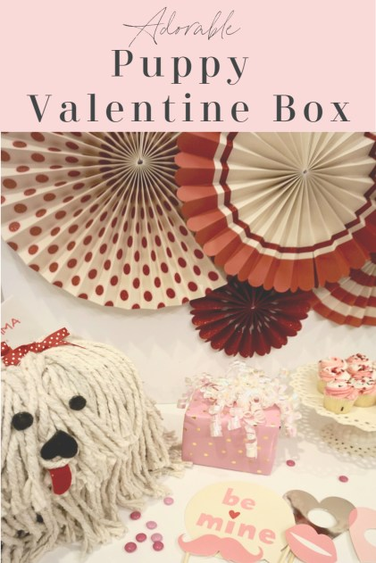Puppy Valentine Box