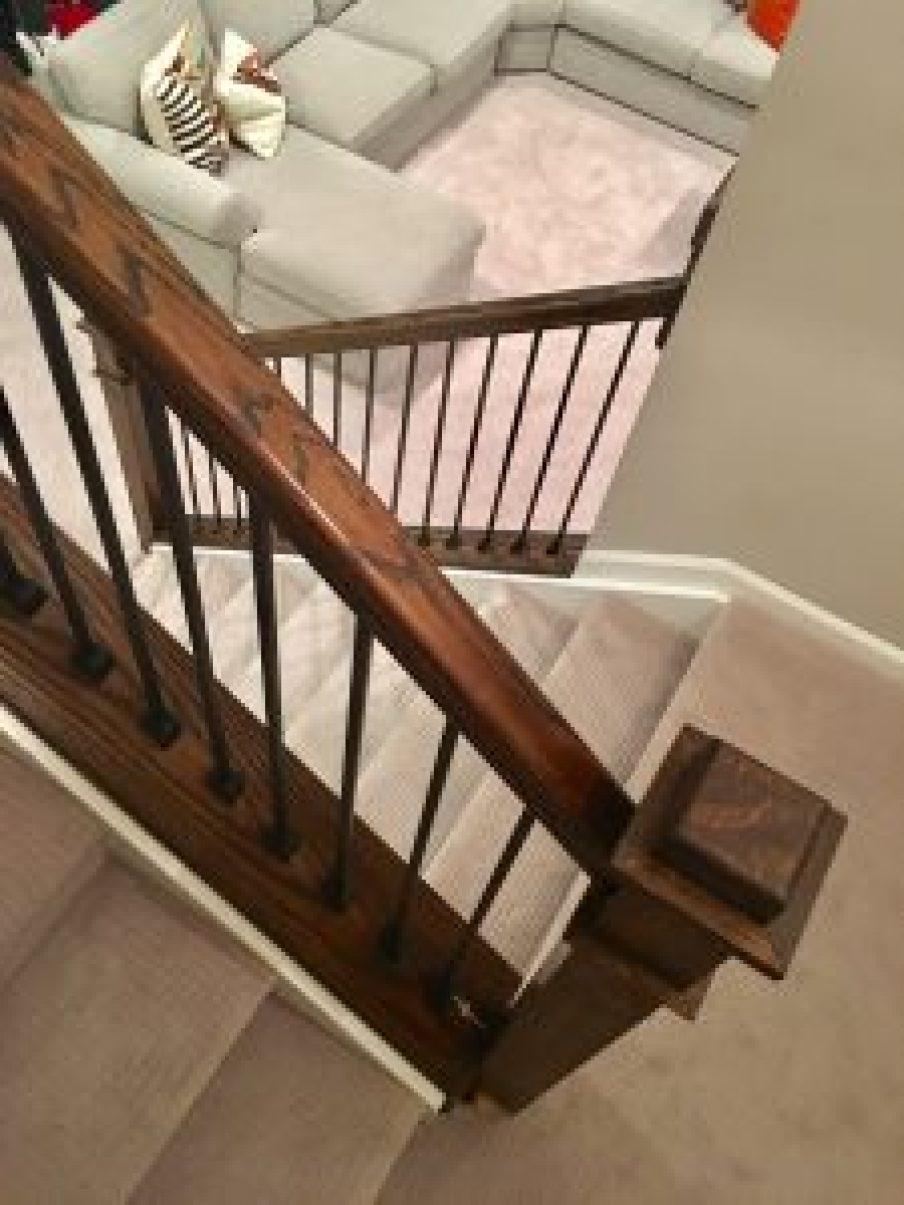 DIY banister