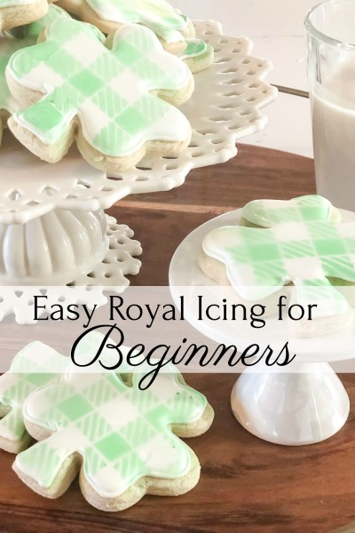 easy royal icing for beginners