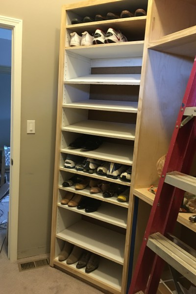 How to build a shoe cabinet