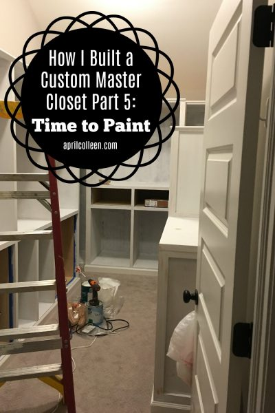 how to build a custom closet
