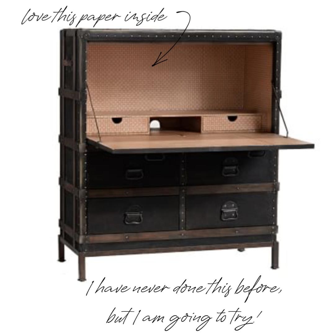 build a secretary desk