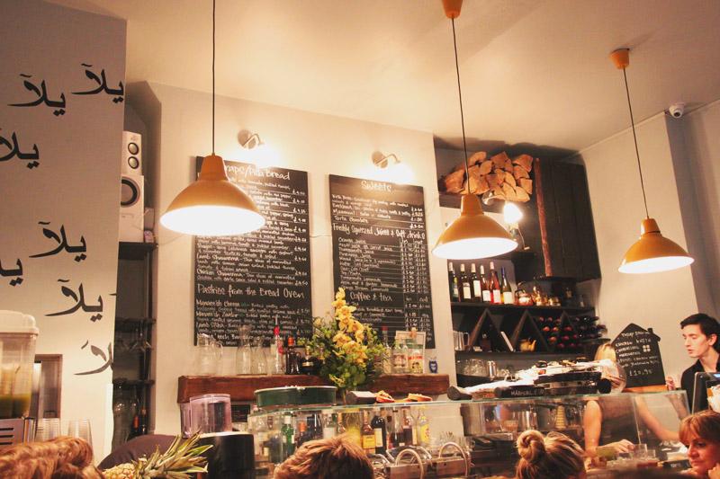 Yalla Yalla Lebanise Restaurant - Soho