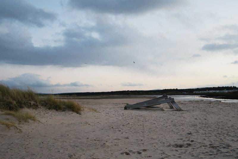 Lossiemouth Beach, Scotland