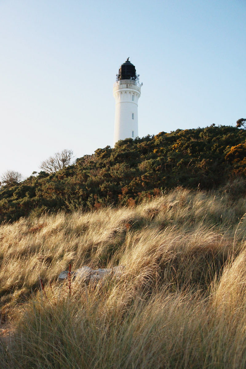 Covesea Lighthouse and Beach