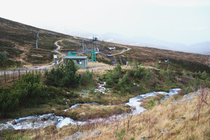 The Cairngorm Mountain Ski Area, Aviemore, Scotland