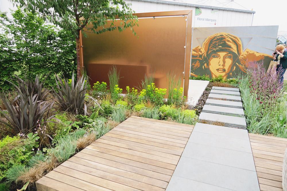 Gardeners World Live 2016 Show Gardens - The Man Garden