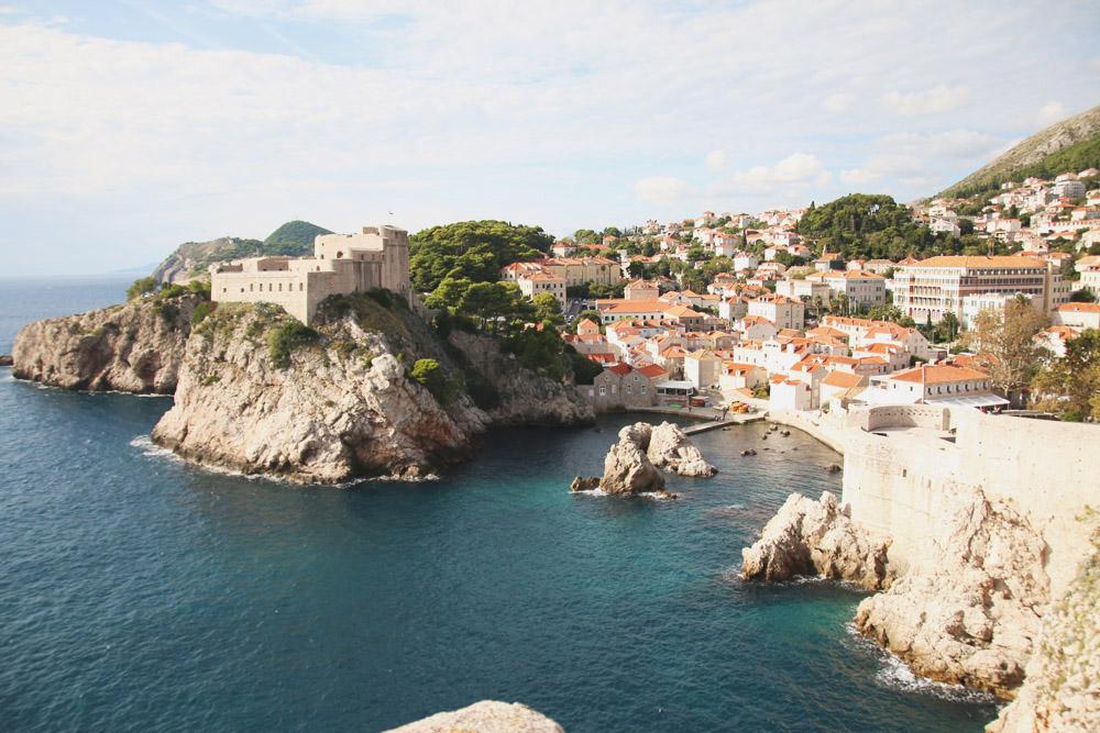 Fort Lovrijenac from Dubrovnik City Walls