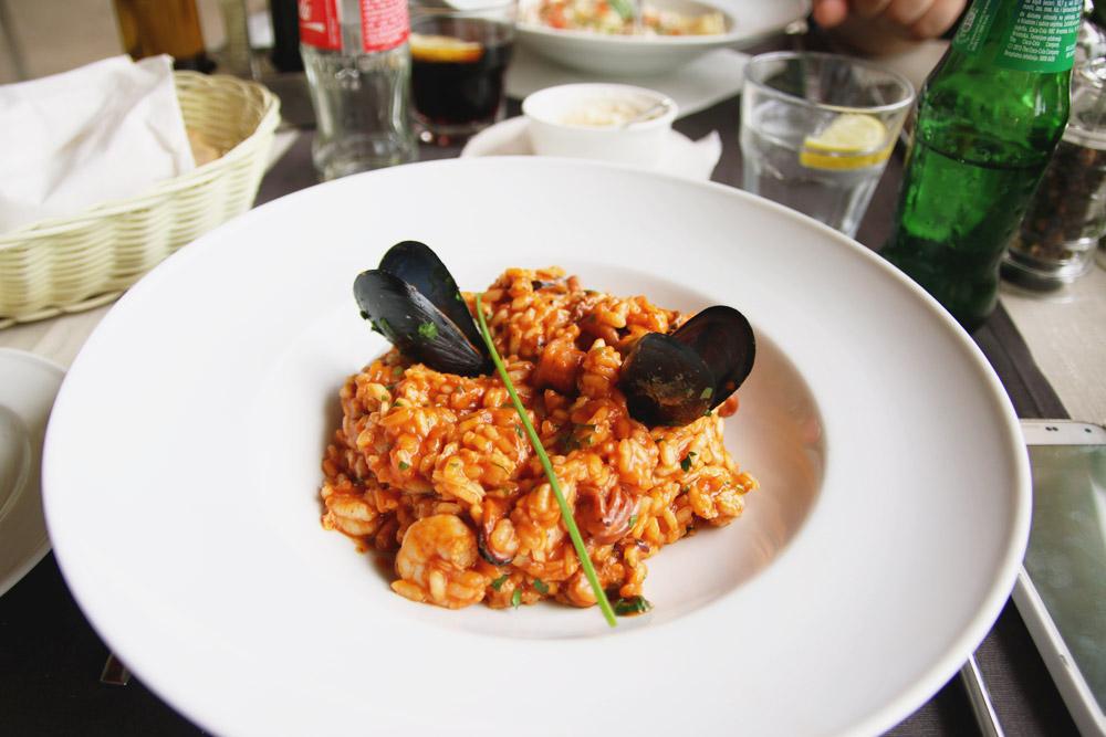 Arsenal Taverna Seafood Risotto, Dubrovnik