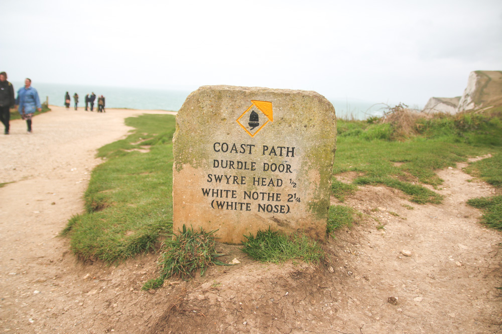 South West Coastal Path - Durdle Door