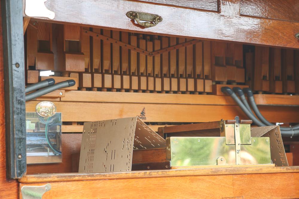 Dutch Music Player at Keukenhof Gardens, Holland