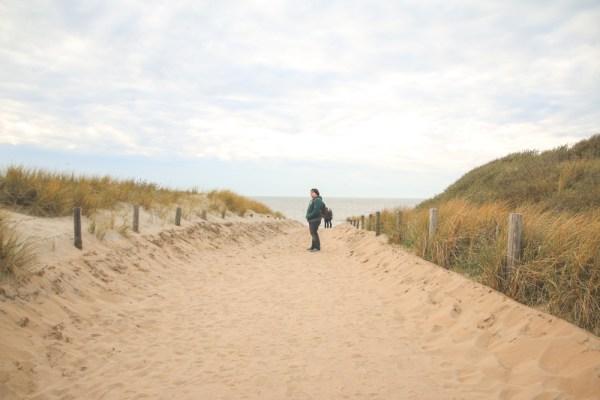Beach at Camping de Zuidduinen, Holland, The Netherlands