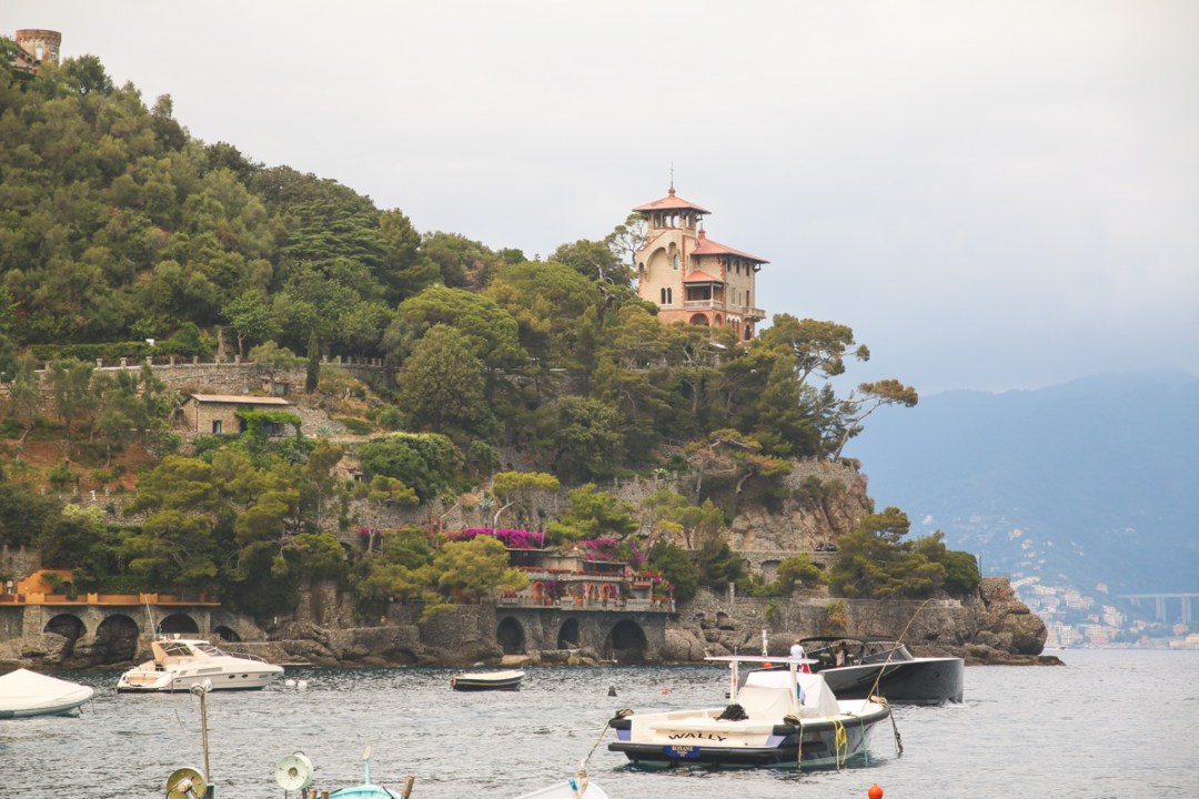 View of Portofino, Liguria, Italy