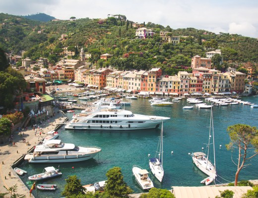 View of Portofino, Liguria, Italy