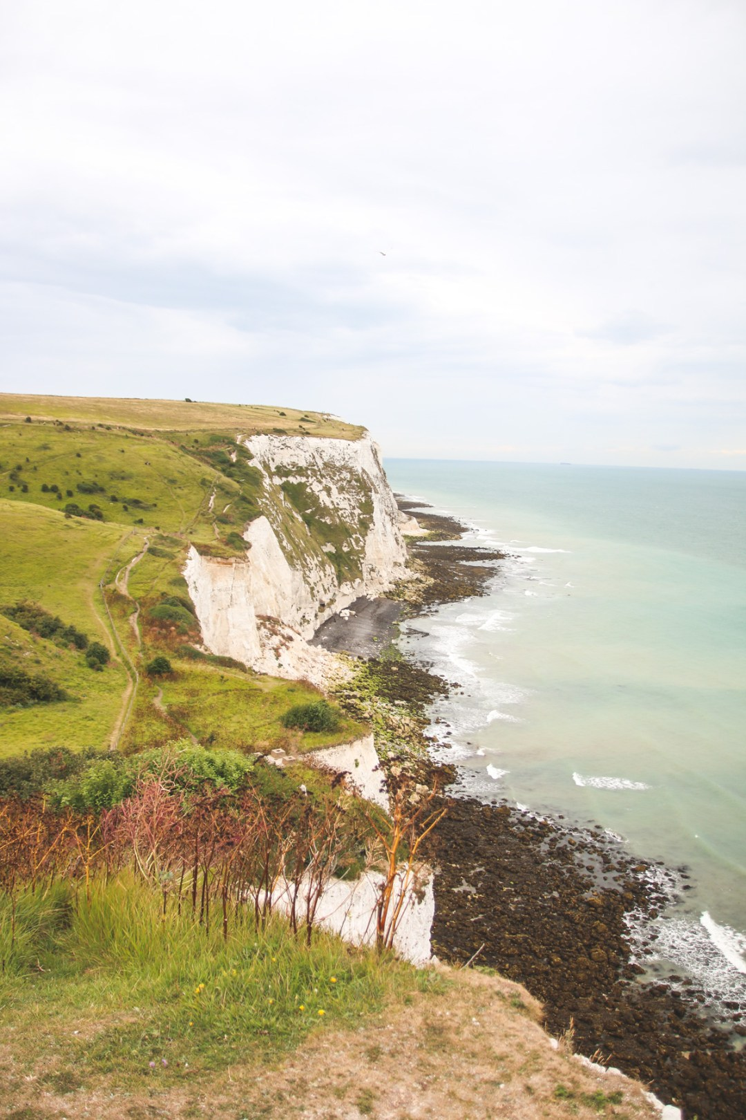 Views over the White Cliffs of Dover