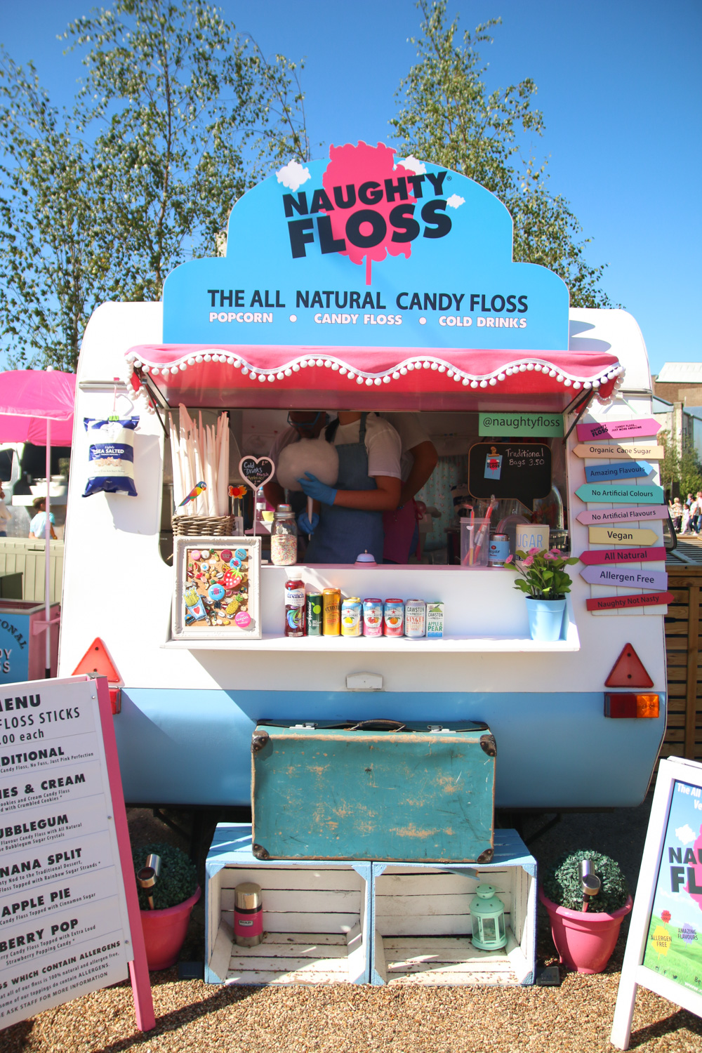 Candy Floss at Dreamland Margate