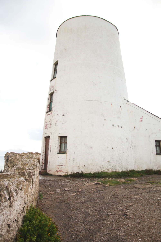 Tŵr Mawr lighthouse, Llanddwyn Island, Anglesey, Wales