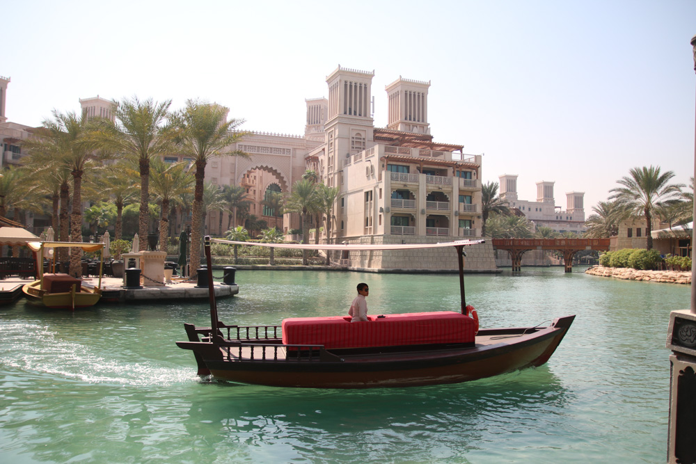 Abra Boat in Souk Madinat, Dubai