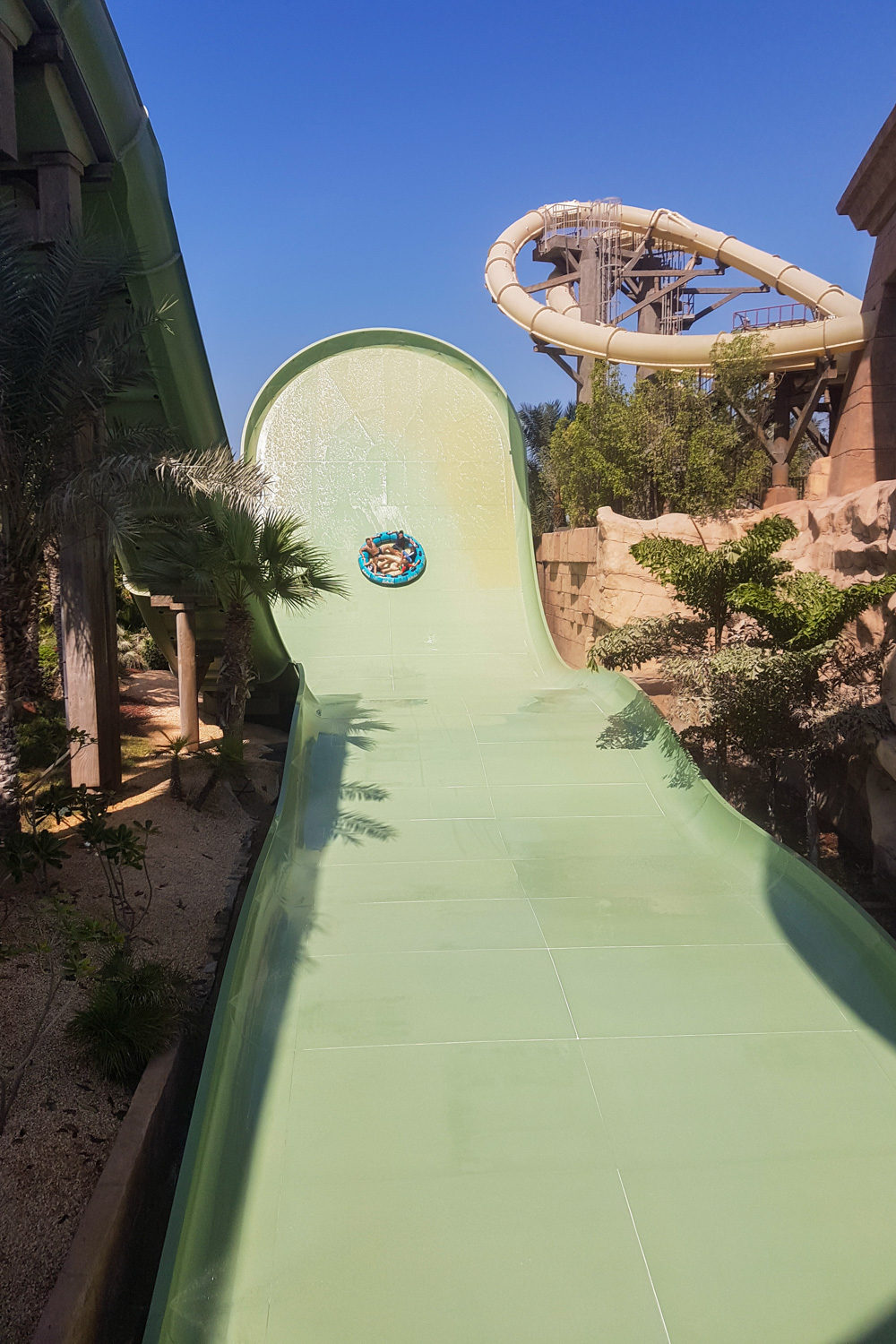 Zoomerango Ride at Aquaventure Waterpark, Atlantis the Palm, Dubai