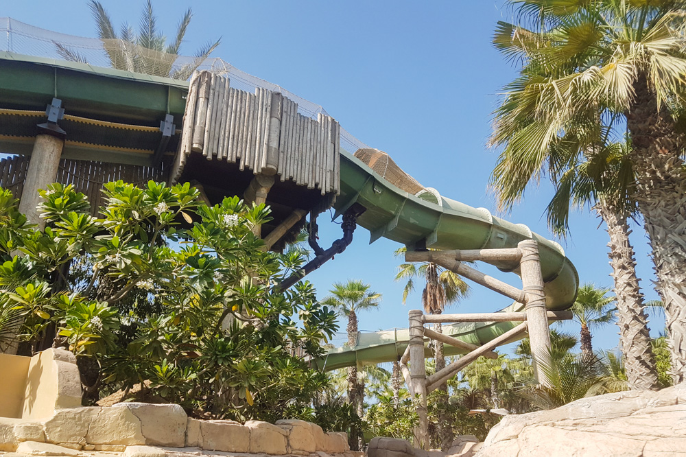 Ride at Aquaventure Waterpark, Atlantis the Palm, Dubai