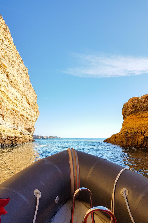 Best Algarve Beaches - Benagil Cave Boat Trip
