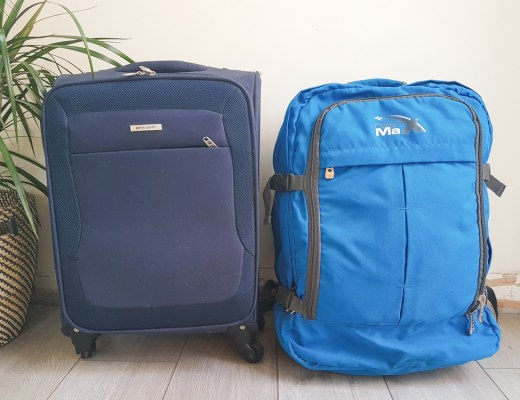 Cabin Backback vs Cabin Suitcase
