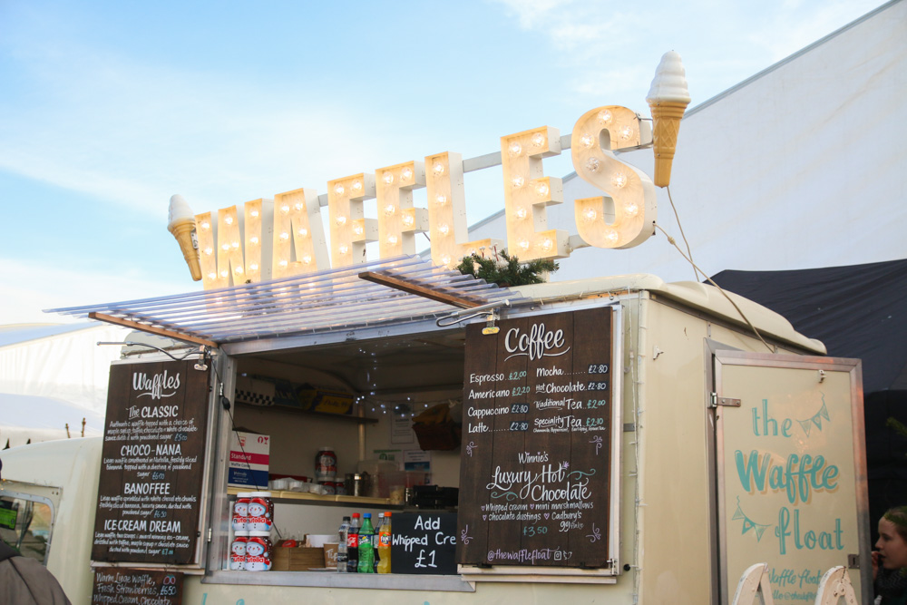 Winter Wonderland London Waffles