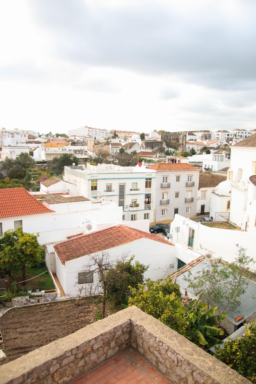 Views over Tavira from Tavira Castle, Portugal