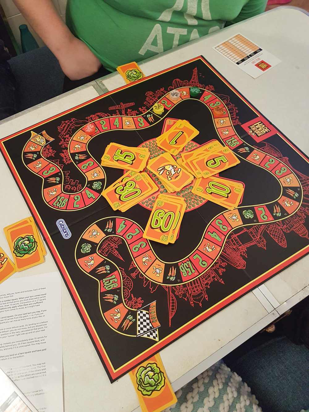 The Hare and The Rabbit Board Game