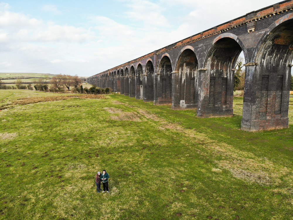 Drone Footage of Welland Viaduct
