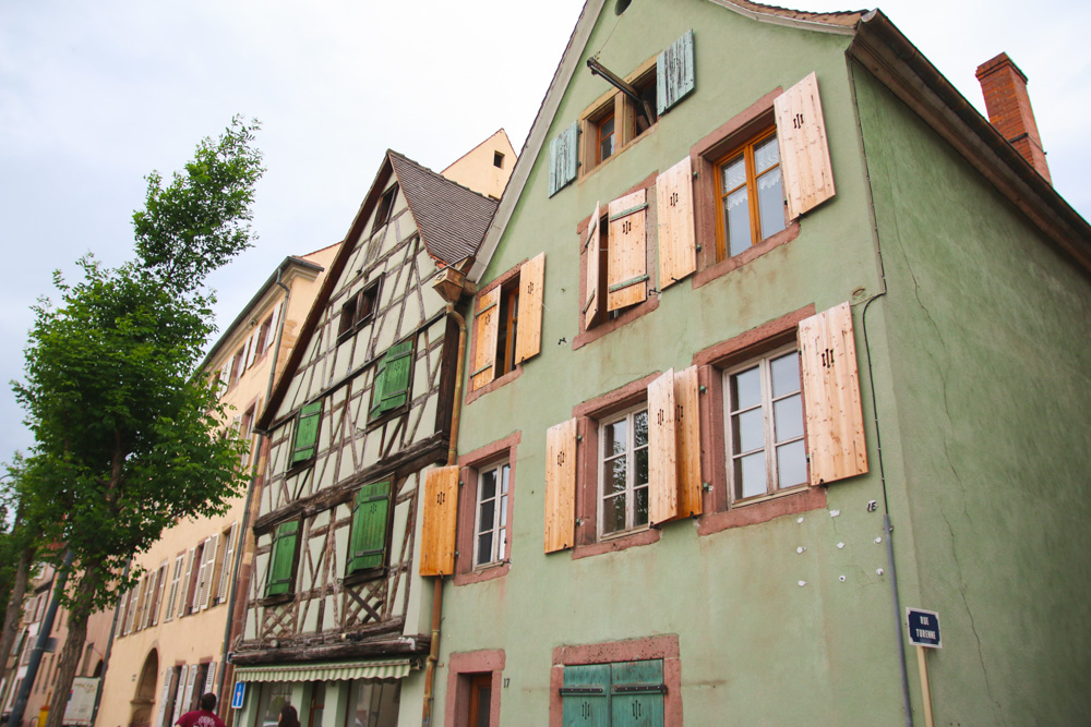 Colourful Buildings in Colmar
