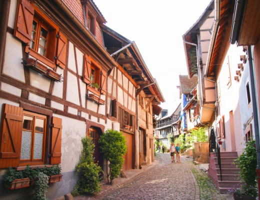 Eguisheim near Colmar in France
