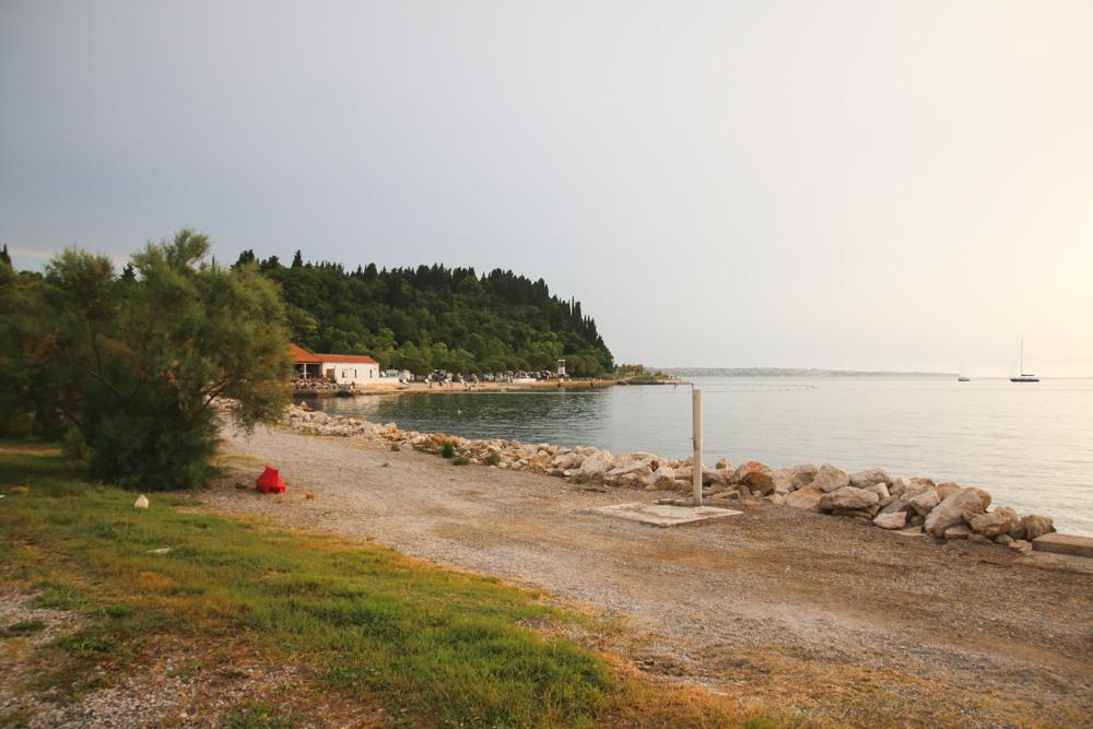 Campsite in Portoroz, Slovenia