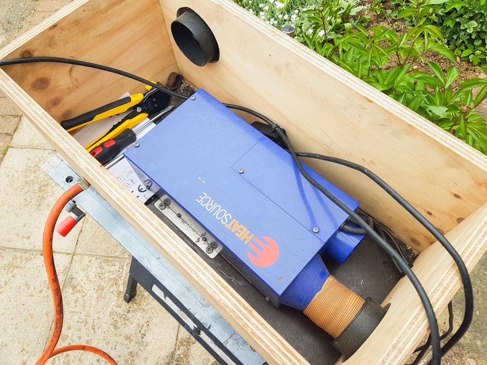 Van Conversion Propex Heater