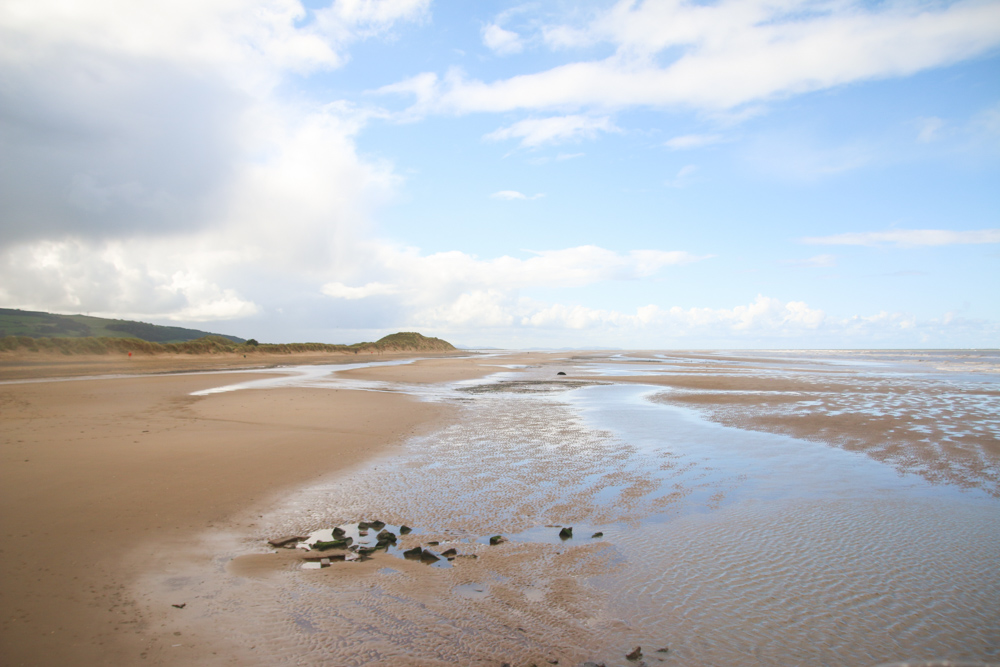 Point of Ayr at Talacre, North Wales
